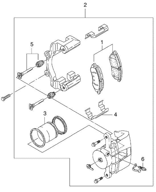 Przednie Hamulce Chevrolet Lacetti Nubira